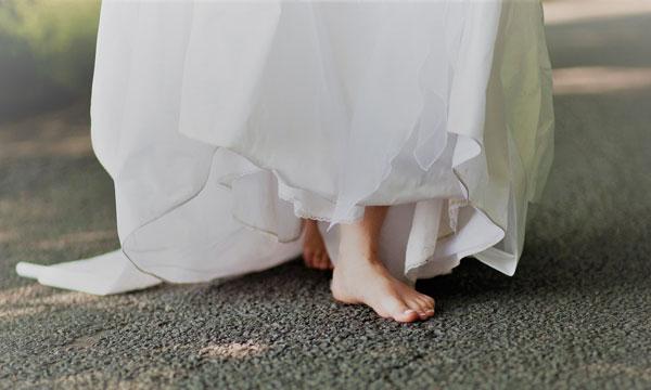 שמלת כלה לחתונת צהריים